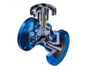 diaphragm valve priciple