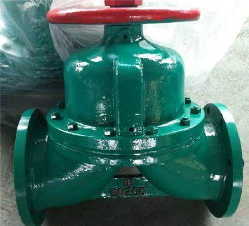manual diaphragm valve photo